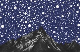 Starry night in British Columbia