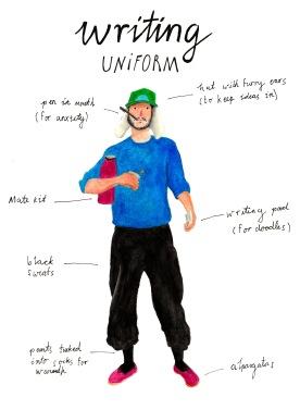 Writing uniform