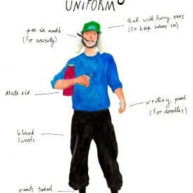 Writing uniform